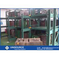 China 75% Extension Sliding Mold Storage Racks Steel Q235 with Travelling Crane Arm on sale