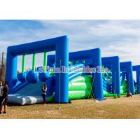 Plato PVC Vinyl Insane Inflatable 5k Obstacle Course For Challenge Run Manufactures