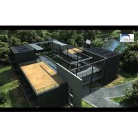 Solar Panel Prefab Container Homes Fully Finished Movable For Office Manufactures