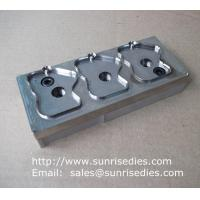 China CNC engraved steel dies, automatic engraving on a steel sheet with high precision on sale