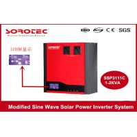 1-2KVA Solar Power Inverter System Built-in PWM Solar Charge Controller Manufactures