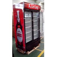 China sliding glass door cooler, drink display cooler with good prices on sale