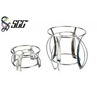 China Polished Modern Round Nesting Stand Buffet Display Stands For Dining Room on sale