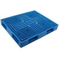 China 1100*1100 HDPE Durable injection molde picture frame shape stackable Plastic Pallet  for Shipment racking pallet wholesale