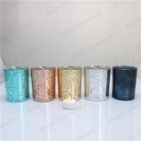 Quality Customized Decoration Candle Container for Home/ Wedding/ Christmas for sale