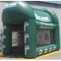 4m Pvc Advertising Inflatable Booth With Printing logo For Business Show