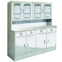 China Smooth Steel Storage Cabinets , Medical Cupboard Trolleys 304 Stainless Steel wholesale