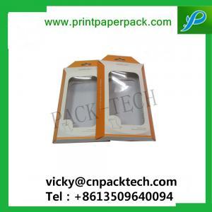 China Bespoke Folded Cosmetic Box Nail Polish Box Lip Balm Gloss Packaging Box Earphone Packaging Cardboard Box with PVCWindow on sale