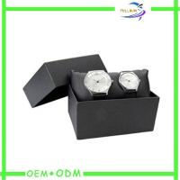 China Personalized  Watch Gift Boxes Custom Logo Printed SGS / FSC wholesale