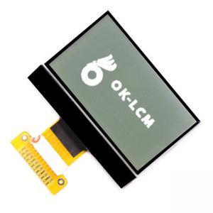 China Transmissive Monochrome Lcd Display Module 12864 Dot Matrix FPC Line on sale
