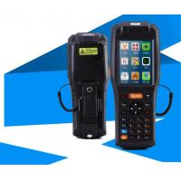 1.4 Ghz Wireless Handheld Rfid Reader Mobile With Barcode Scanner Manufactures
