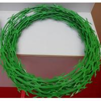 Buy cheap Colored Concertina Razor Wire from wholesalers