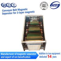 China Professional Production Belt Rolls Type Magnetic Separator Machine wholesale