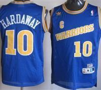 China Golden State Warriors 10 Tim Hardaway Blue Soul Throwback M&N NBA Jerseys on sale