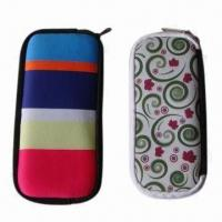 China Neoprene Eyeglass Cases, Various Colors are Available wholesale