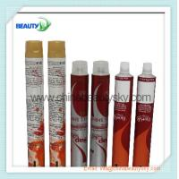 Cosmetic packaging Empty Aluminum Tubes for hair color cream, hand cream 15ml ~ 180ml Manufactures