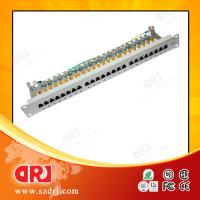 "Home Network 24 Port Cat5e Patch Panel 19"" STP 150 Volts ISO CE Manufactures"