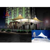 Public Lawn Tension Shade Structures Colorfull Park Shelter Landscape Manufactures
