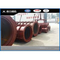 380V / 50HZ Concrete Tube Mold , Cement Pipe Mould Steel Material Manufactures