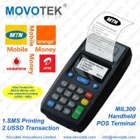Buy cheap Movotek SMS Printer for Prepaid Airtime/Mobile Money/Online Food Ordering (GPRS Printer) from wholesalers