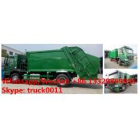 China Factory customized HOWO 4*2 LHD/RHD 8m3/10m3/12m3/14m3 compression garbage truck for sale, garbage compactor truck wholesale