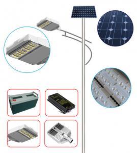 chinese lighting 6m8m10m12m solar street lamp/led light/lamp pole Manufactures