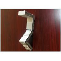 Champagne Industrial Aluminum Extrusion Profile Smooth Surface For Assembly Lines