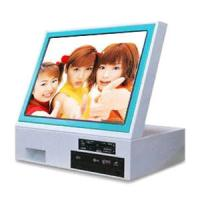 China Touch Screen Self Service Digita Photo Countertop Kiosk For Printing / Download wholesale