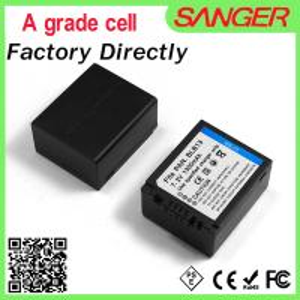 BLB13 digital camera battery for Panasonic camera Manufactures