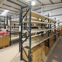 Medium Duty Metal Warehouse Shelf Manufactures