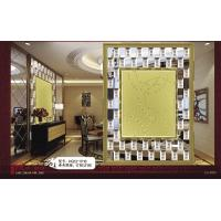 China 8mm / 6mm Glass Mirror Mosaic Tiles , Square Colored Spell Mirror on sale