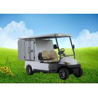 China Aluminum Box Custom Electric Golf Carts With Roof Rack For Hotels and Resorts wholesale