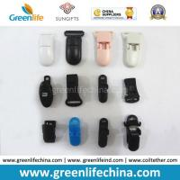 China Different Types Plastic ID Badge Holder Clips Lanyard Accessories on sale
