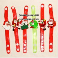 China Buy 2014 Christmas gift for friends LED silicone wristband with factory price on sale