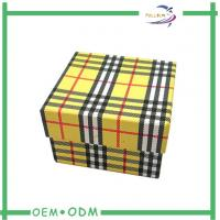 China Decorative Watch Storage Box Matte Lamination Handmade Rigid Packaging wholesale