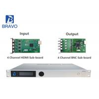 FTA Integrated Receiver Decoder HD / SD BWDVBS - 8015 With LCD Control Buttons