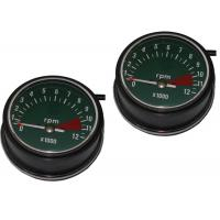 China Copper Wire Motorcycle Speedometer Kit , ABS Motor Gauges For HONDA CG125 76 / 77 wholesale