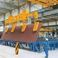 China cabin control 16 - 22 m  200 / 80T Magnetic Scrap Steel Casting Plant Lifting crane on sale
