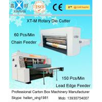 Corrugated Carton Box Rotary Die-Cutting Machine For Colorful Cartons / Boxes Manufactures