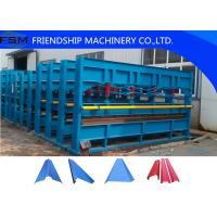 Hydraulic Plate Bending Roll Forming Machine for Factory / Warehouse / Garage Manufactures