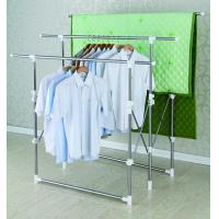 Retractable Free Standing Clothes Drying Rack Space-saving for Quilt Manufactures