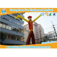China Cowboy Theme Inflatable Advertising Products Inflatable Sky Dancer  Sky Puppet wholesale