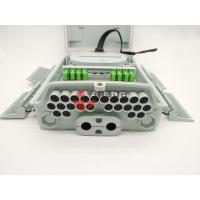 China Pole & Wall Mounted Fiber Optic Distribution Box 24 Ports with 1x16 PLC Splitter IP65 on sale