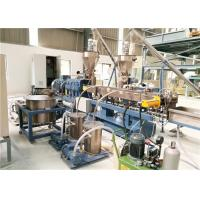 Plastic Twin Screw Extruder Machine For Filler Masterbatch Making CE ISO Approval
