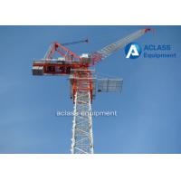 Industrial 6t Small Luffing Jib Small Tower Crane / Hydraulic Mobile Crane