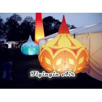 Buy cheap Big Rain Shape Printing Inflatable Light Cone with Light for Shop and Event Decoration from wholesalers