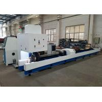China Stainless Steel Metal Fiber CNC Pipe Cutting Machine 2000W Automatic 6mm Thickness on sale