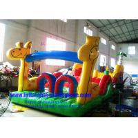Commercial Inflatable Water Park For Kids, Inflatable Water Obstacle Course Manufactures