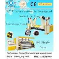 Carton Box Paper Making Machine 180KW Corrugated Paper Sheet Cutting Machine Manufactures