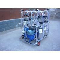 China 4 Stainless Steel Buckets Dairy Milking Machine For Goats / Sheep on sale